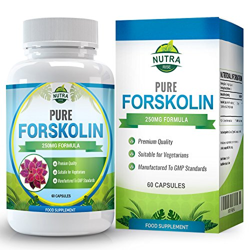 Forskolin for Weight Loss, Diet Pills With Active Fat Burner, Burn Belly Fat Easily, Our Supplement is Made from Pure Extract, 250mg Capsules