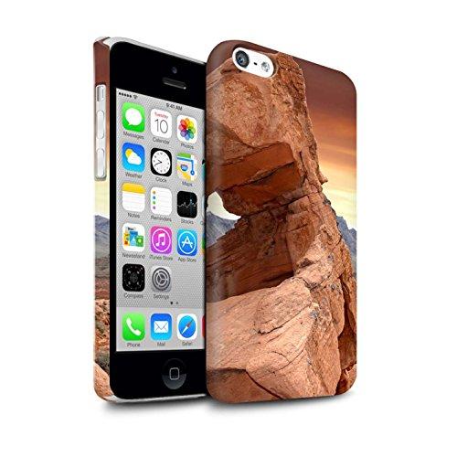 Clipser Matte Coque de Stuff4 / Coque pour Apple iPhone 5C / Vallée Design / État du Nevada Collection Vallée