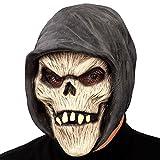 Carnival Toys 01412 - máscara de calavera con capucha