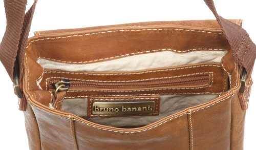 Bruno Banani 66 BL 320.45, Borsa a spalla unisex adulto, 5 x 21 x 17 cm (L x A x P) Beige (Beige/cognac)