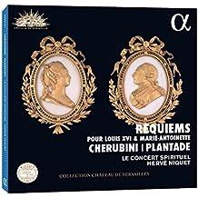 Cherubini : Requiem en ut mineur à la mémoire de Louis XVI - Plantade : Messe des Morts en ré mineur à la mémoire de Marie-Antoinette