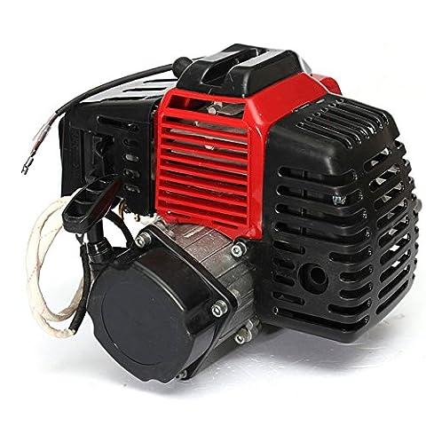 49cc 2Stroke Motor Engine Cylinder Pull Start pour Mini Pocket Bike GoKart gaz Scooter