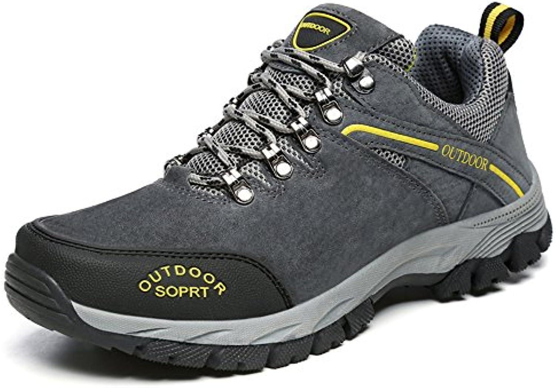 Yajie-scarpe Scarpe da Atletica da Uomo Vamp Lace Up in Cotone con Tacco Piatto da Uomo (Coloree   Grigio, Dimensione... | Alta qualità e basso sforzo  | Sig/Sig Ra Scarpa