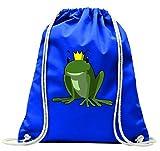 'Turn Bolsa 'Príncipe Rana cuento de Frog de Prinz de animales con cordón-100% algodón...