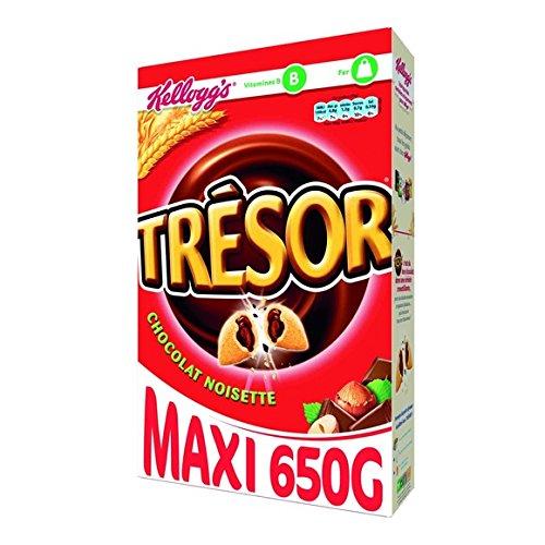 trésor Céréales fourrées au chocolat et noisettes - ( Prix Unitaire ) - Envoi Rapide Et Soignée