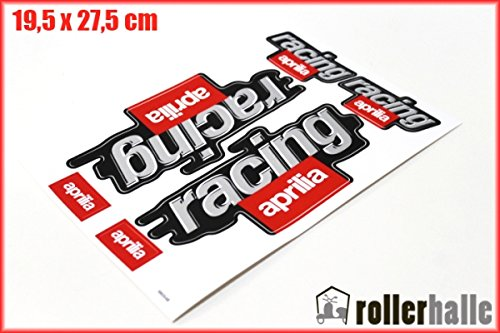 Aufkleber Satz Sticker Set RACING Aprilia SR 50 RS RSV 125 Roller #9