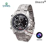 Smars® Spy Hidden Wrist Watch Camera with 8GB Inbuilt Internal Memory & HD