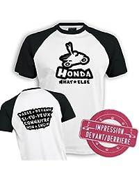 Planète motard - Tee shirt moto Honda - T shirt motard - T shirt moto - T shirt homme