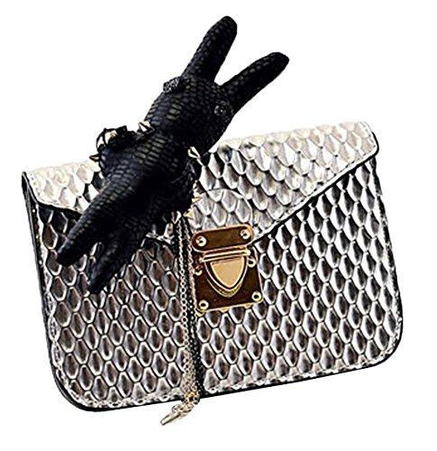 Fashion Bag,  Avorio 5# Verde (2#)