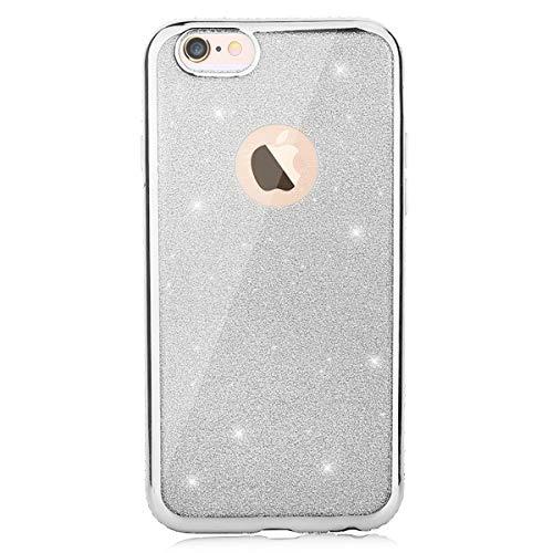 f6791793c76 CLTPY iPhone 6s Funda Silicona, iPhone 6 Cristal Diamante de la Serie Bling  Brillo TPU