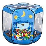 himmlisches Bällebad / Spielzelt / pop-up-Zelt mit 500 bunten Bällen