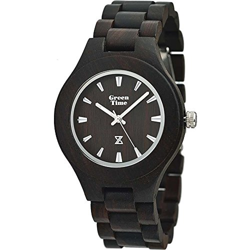Uhr nur Zeit Herren Green Time Round Collection Trendy Cod. zw005 a