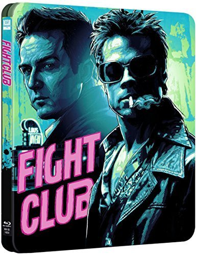 Fight Club Steelbook Uk Limited Edition Bluray Region Free Sold out!!