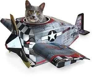 Suck UK Cat Play house - Plane