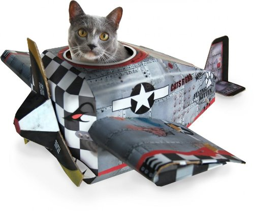 katzeninfo24.de SUCK UK Katzenspielhaus – Flugzeug