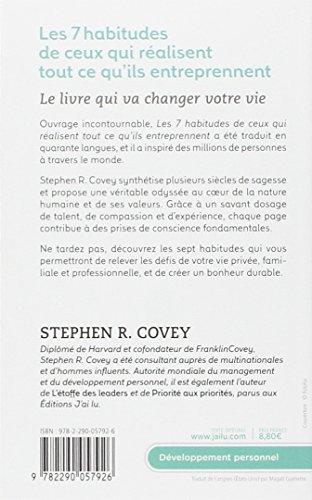 HABITUDES 7 COVEY STEPHEN PDF DE TÉLÉCHARGER LES