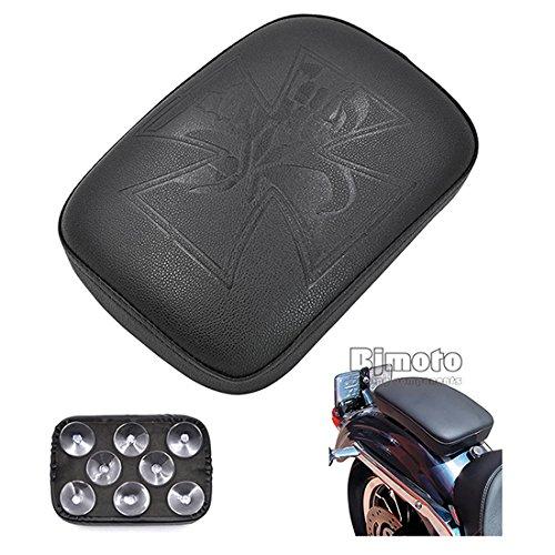 Alamor Moto C/ôt/é Pied Chevilles Repose-Pieds en Aluminium pour Harley Sportster Dyna Softail