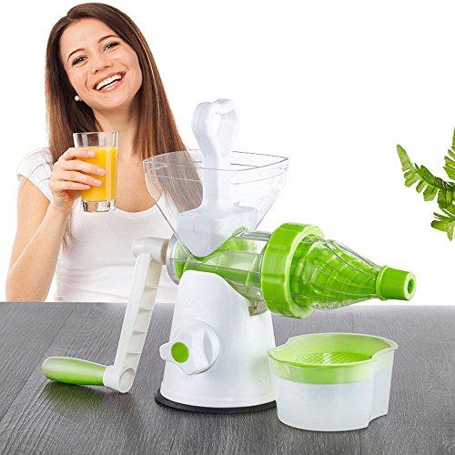 JKYQ Frühstück Saftpresse für gesunde Entsafter Obst und Gemüse Hand-Manuelle Weizengras Entsafter Küche oder Esszimmer Hand Crank Reamer Kinder Saftmaschine