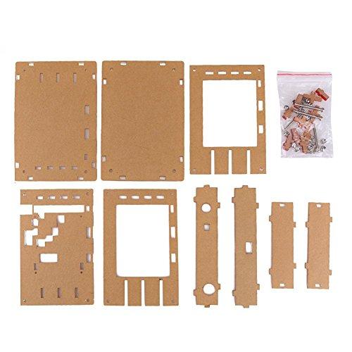 Preisvergleich Produktbild Acryl DIY Kit Schutzhülle Shell für DSO138 Oszilloskop Zubehör Ersatzteile Abdeckschale