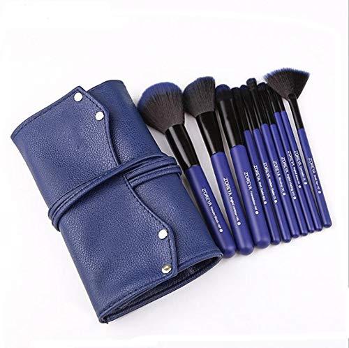 Make Up Pinsel 10 Sternenhimmel blau Make-up-Pinselsatz Vollständiger Satz Anfänger bis Profi Farbe Werkzeugbürste
