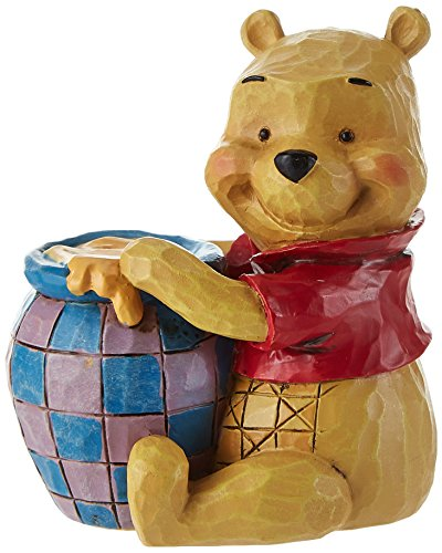 Disney Britto - Figura Decorativa de Winnie The Pooh (tamaño pequeño), Piedra,, 6 x 5 x 7 cm