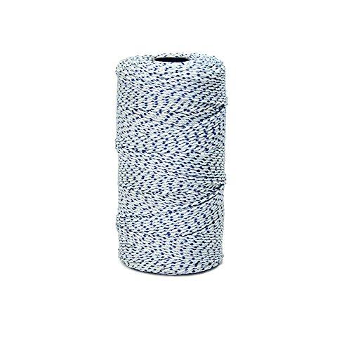 Preisvergleich Produktbild bonqg Mason 's Bon 21–281 Bonded geflochten Line,  blau,  weiß,  685-feet
