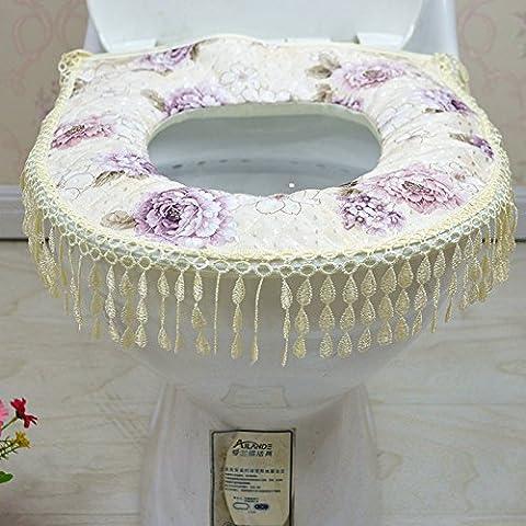 XQXAutunno Inverno igienici posti a sedere ispessita tenere in caldo cuscino del sedile generale, tenere al caldo sedile Cuscino WC