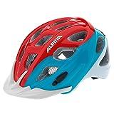 Alpina Casque de cyclisme Rocky, Enfant, Fahrradhelm Rocky, Multi-Coloured - Red/Blue/White