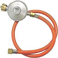 Gas regulador de presión 50mbar + manguera de gas nueva