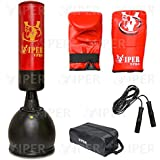 Free Standing Boxing Punch Bag Stand Heavy Duty Martial Arts MMA