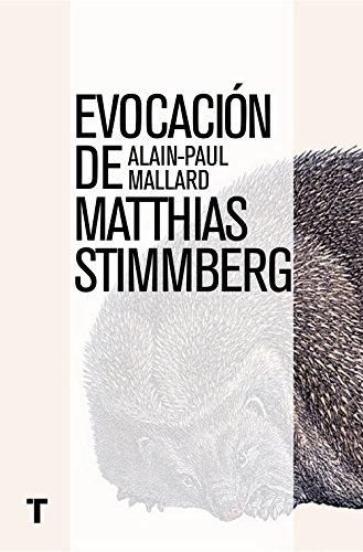 Portada del libro Evocación De Matthias Stimmberg (El Cuarto de las Maravillas)