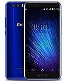 Blackview P6000 - 5.5 pouces FHD écran Android 7.0 4G smartphone, MTK6757CD Octa Core 2.6GHz 6Go + 64Go, mince avec batterie 6180mAh Charge rapide, Reconnaissance faciale, Bleu