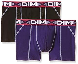 Dim 3D Flex Air, Boxer Homme, Multicolore (Noir / violet auburn), Large (Taille fabricant: 4), Lot de 2 (B01BYASRWC) | Amazon Products