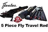 Flextec Oscar 5-teilige Fliegenrute, 2,7m, für Forellen, Karpfen, mit Cordura-Tasche, in Größen 5/6, 6/7, 7/9 9ft 5 piece # 6/7
