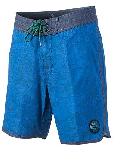 "Costume pantaloncino Uomo Rip Curl Layday Sunny Trip 19"" Blu Blu"