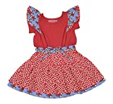 Always Kids Girls' Regular Fit Dress (Zo...