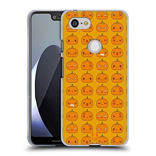 �rbis Muster Halloween Kawaii Soft Gel Hülle für Google Pixel 3 XL ()