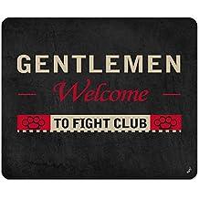 El Club De La Lucha - Gentlemen Welcome To Fight Club Alfombrilla Para Ratón (23 x 19cm)