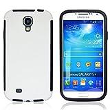 Roar Galaxy S4 Mini Outdoor Hülle, 360 Grad Full Cover Schutzhülle, Premium Rundum Komplett Schutz für Samsung Galaxy S4 Mini, Weiß