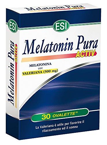 Esi Melatonin Pura Activ - 30 Ovalette