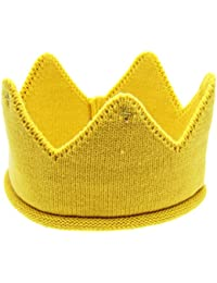 Ularma Baby Mütze Kaiserkrone Weichen Wolle Hut Kinder Cap Kopfband Kostüm für: 6M-3Jahr Baby