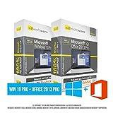 Microsoft® Windows 10 Professional (PRO) + Office PRO 2013. Original-Lizenz. 32 bit & 64 bit. Deutsch+ML. Audit Sicher, S2-ISO DVD, Lizenz. CLP Zertifikat. Refurbished