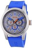 BOSS Orange Herren-Armbanduhr XL Paris Multieye Analog Quarz Silikon 1512995