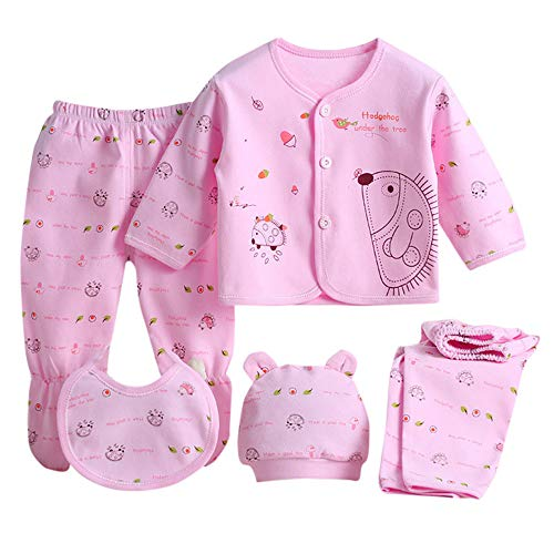 5Pcs Newborn Baby Boy Girl Cloth...