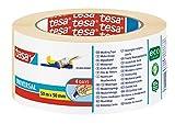 tesa Malerband, Kreppband für einfache Malerarbeiten 50m x 50mm Doppel-Sparpack