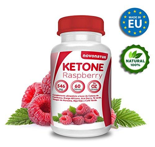Fat Burner, Raspberry Ketones with raspberry, African Mango, Apple vinager, Green Tea, Green coffee, Acai, Kelp alga and Uva Vinífera,60 capsules,Dr formula. OZ. Promotes weight loss