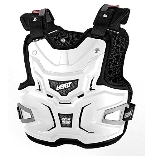 LEATT Chest Protector Adventure Lite Brustpanzer, Farbe weiss, Größe one-size