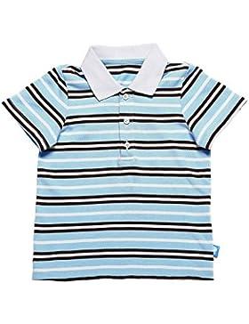 Oceankids Jungen Gestreiftes Polo Baumwoll Sommer Kinder Poloshirt