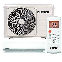 AURATSU AWX-24KTA Split Klimaanlage 7,0 kW 24000 BTU, für bis zu 110 qm, WiFi Ready Invert Klimagerät Split, A++ Kühlen, A+ Heizen, inkl. Montage-Set, Kältemittel R32, Fernbedienung