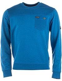 Hommes Fire Trap Eburne Pullover Sweat Shirt